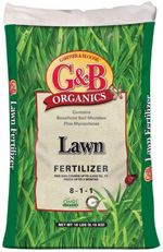 GBO lawn fertilizer