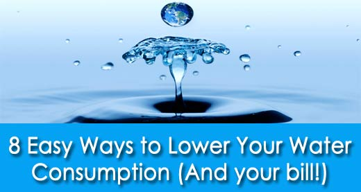 Water Consumption Tips