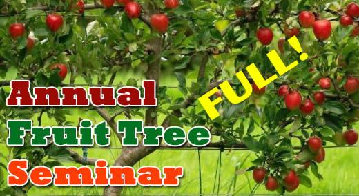 Fruit Tree Seminar Feb 3, 10-12