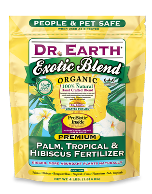 Exotic Blend Palm, Tropical & Hibiscus Fertilizer – Poly bag