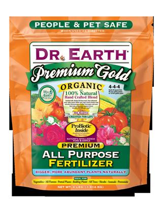Premium Gold All Purpose Fertilizer – Poly bag, 4 lb  – 12
